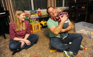 Lewis family adopts a new member — toddler Jack