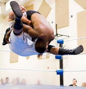 Local churches, New World Pizza host Christian wrestling supershow