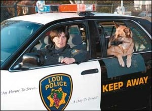Lodi police dog featured on TV show