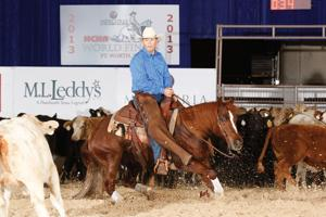 Acampo cowboy John Primasing collects world-champion hardware