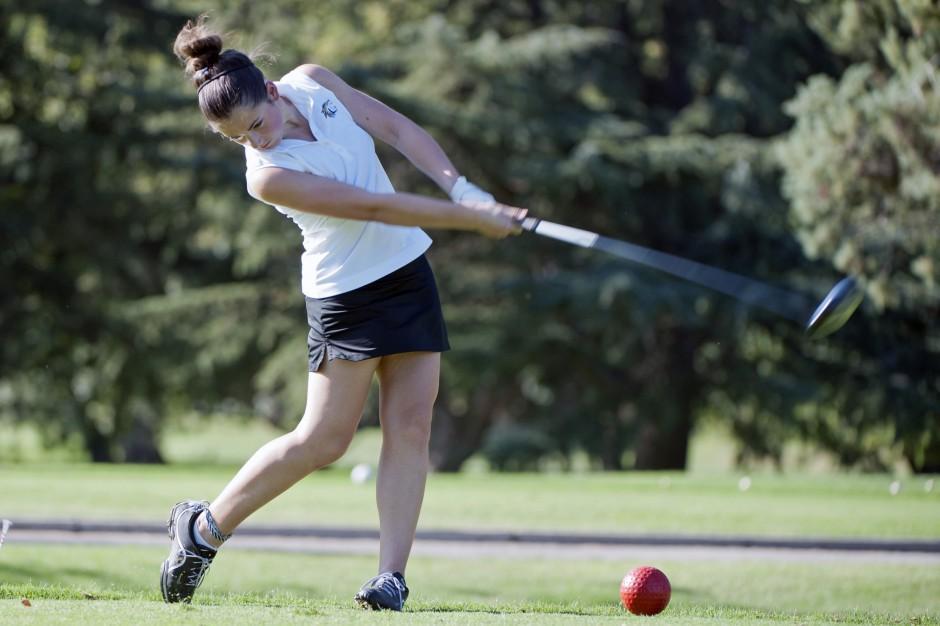 Tokay outshoots West in girls golf