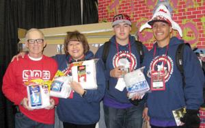 St. Christopher's youth group visits Indianapolis for conference