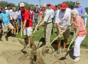 Lodi High School breaks ground for the new Don Womble track