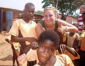 Lodi's Jessica Carter dips into savings to volunteer in Africa