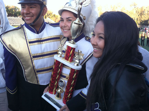 Tokay High School marching band takes first place at Review of Champions