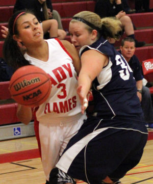 Girls basketball: Flames burn Buffaloes