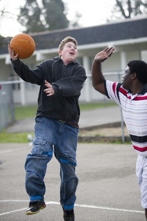North Valley School in Lodi provides a shot of motivation for students