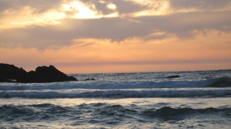 Sunset at Sand Dollar Beach, CA