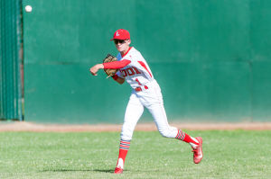 Baseball: Despite a down day, Flames remain on top