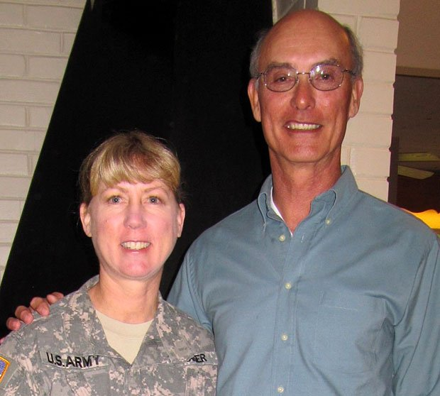 National Guard colonel speaks to American Association of University Women