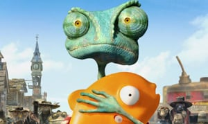 'Rango' is sharply written, visually stunning fun for entire family
