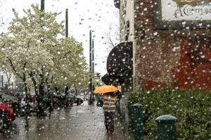 Lodi drenched by much-needed weekend rain