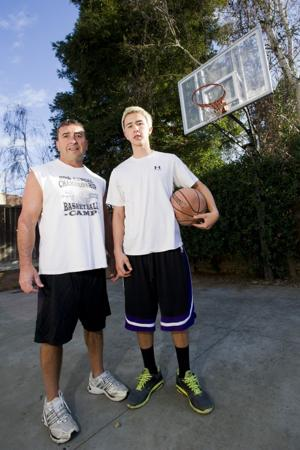 Basketball is a habit for Gonsalves boys