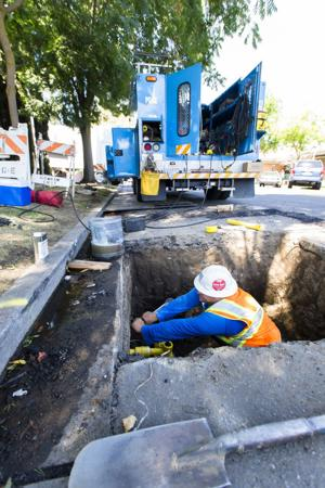 Gas pipeline replacement work ongoing in Lodi