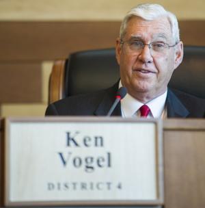 Ken Vogel new chairman of San Joaquin County Board of Supervisors