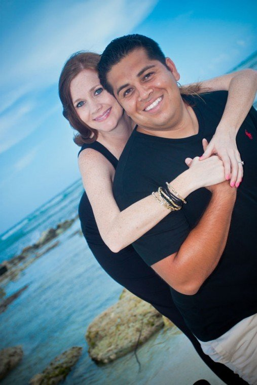 Hector Gonzaga and Natalie Parkins wed in San Bernardino