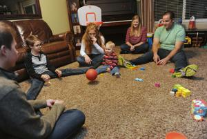 Lewis family adopts a new member, toddler Jack