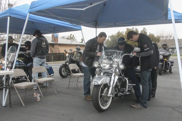 Motorcycle ministry groups gather in Galt for bike blessing