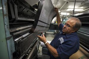News-Sentinel press foreman Joe Mistretta retires after 38 years