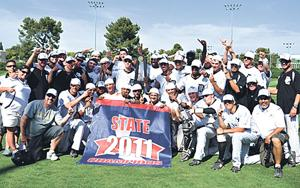 Former Tokay Tigers bask in college baseball state title