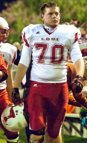 Lodi High School linemen Brian Collins, Zack Tigert will share all-star experience