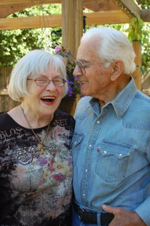 Angelo and Esther Fanos celebrate 70th anniversary with party