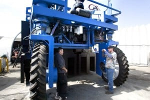 First-of-its kind cotton machine rolls out of Lodi