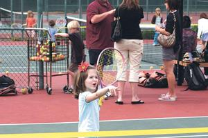 Twin Arbors goes Euro with tennis instruction