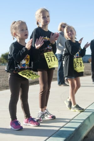A helping of charity, health at annual run/walk