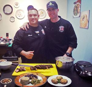 Lodi firefighters team up to conquer heated cooking contest