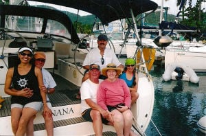 Lodians and friends visit British Virgin Islands