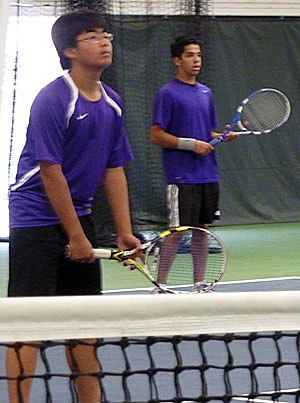 Tokay's Albert Lee, Johnny Morales reach tennis doubles final