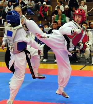 Local athletes Sarah Hilaman, Alex Colley qualify for taekwondo national team