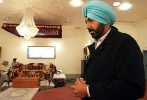 President of Lodis Sikh temple came to U.S. to better himself