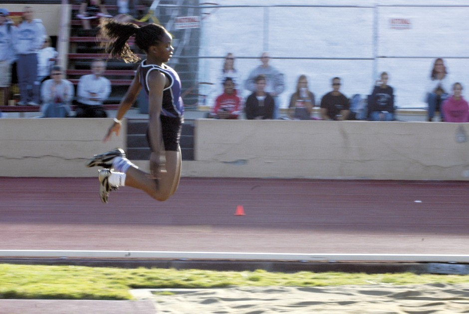 Tokay's Jannell Hadnot bounds to victory in triple jump at Sac-Joaquin Section Masters track and field meet