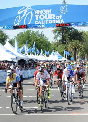 Mark Cavendish ekes out Amgen Tour of California Stage 2 with last-minute sprint