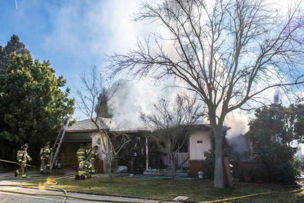 Dog saved from Lodi house fire