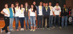 Lodi High School Science Olympiad team competes in regional competition