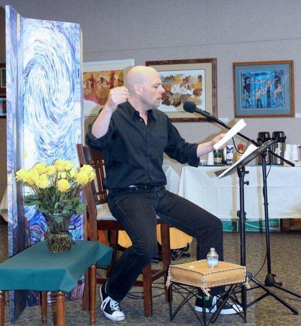 Authors share their work at A Starry Night Poetry Series