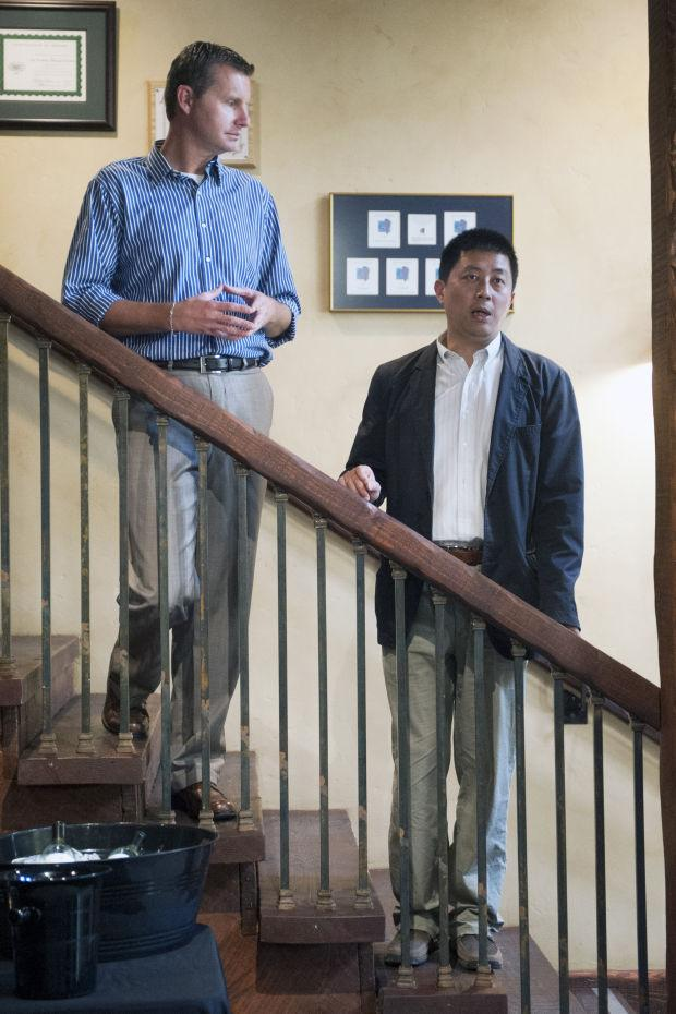 Delegation of wine buyers from China learn about Lodi