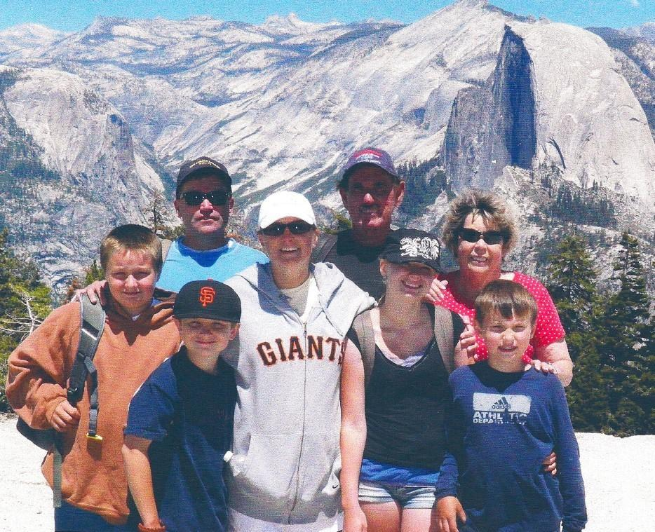 Family has fun on Yosemite adventures