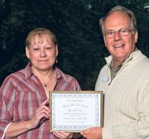 Local author wins award