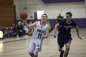 SJS Boys Basketball D-V playoffs: Eagles soar into semifinals