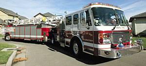 Firefighters say $922,574 tiller truck nimble, needed