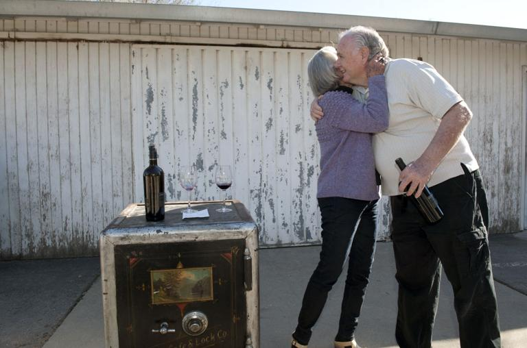 133-year-old safe delivered to family of original owner at Jessie's Grove Winery