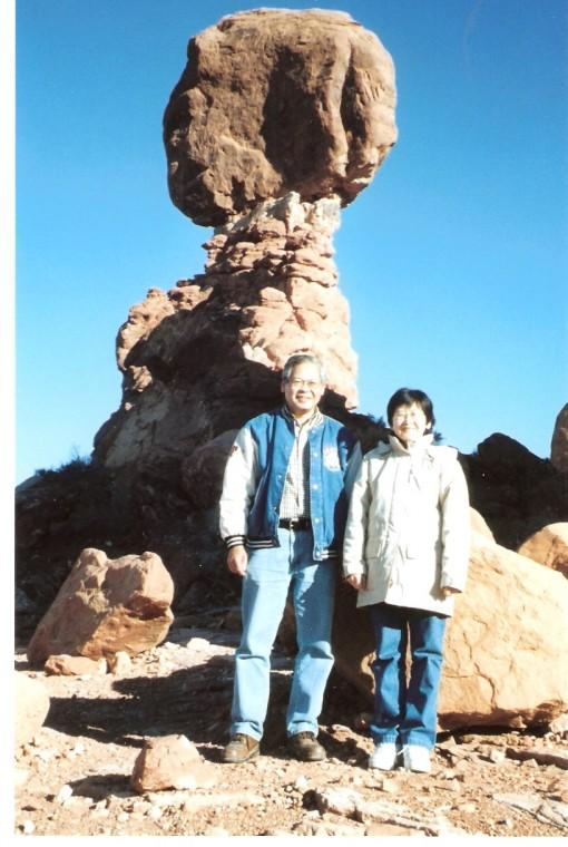 Balanced Rock in Utah's Arches National Park