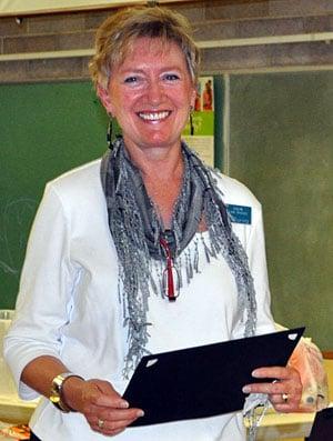 Connie During receives fellowship award