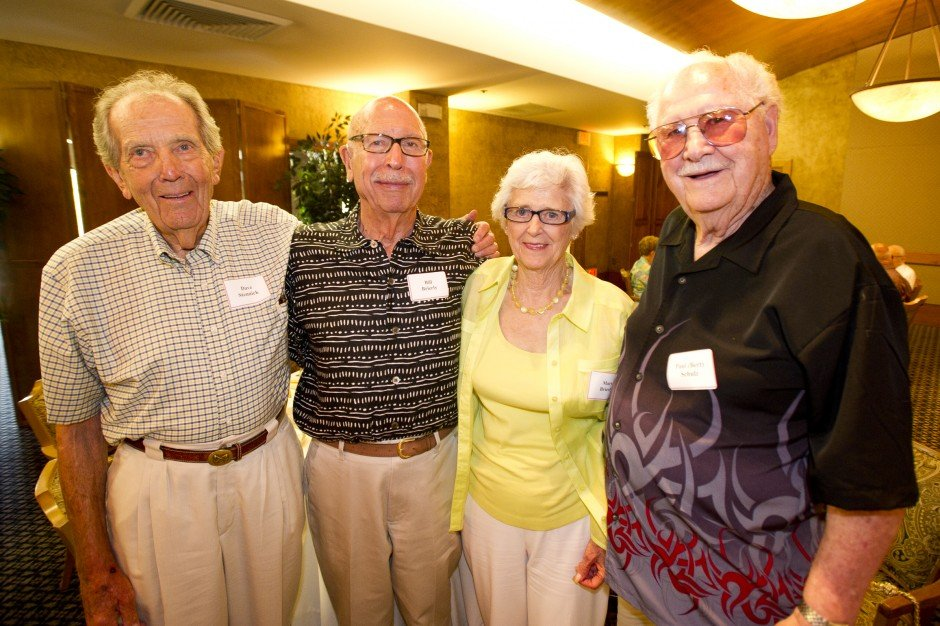 Lodi Union High School Class of 1942 reunion
