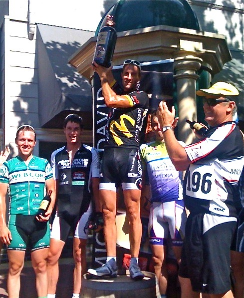Lodi Criterium Podium July 13, 2009