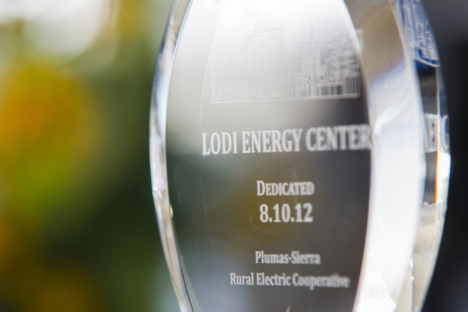Local officials dedicate cutting-edge Lodi Energy Center
